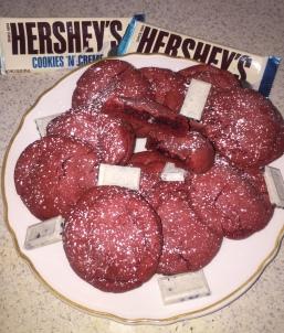 Cookies n_ Cream Red Velvet Cookies 11