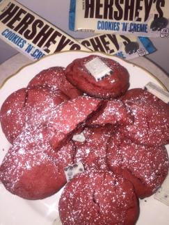 Cookies n_ Cream Red Velvet Cookies 13