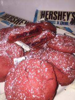 Cookies n_ Cream Red Velvet Cookies 14